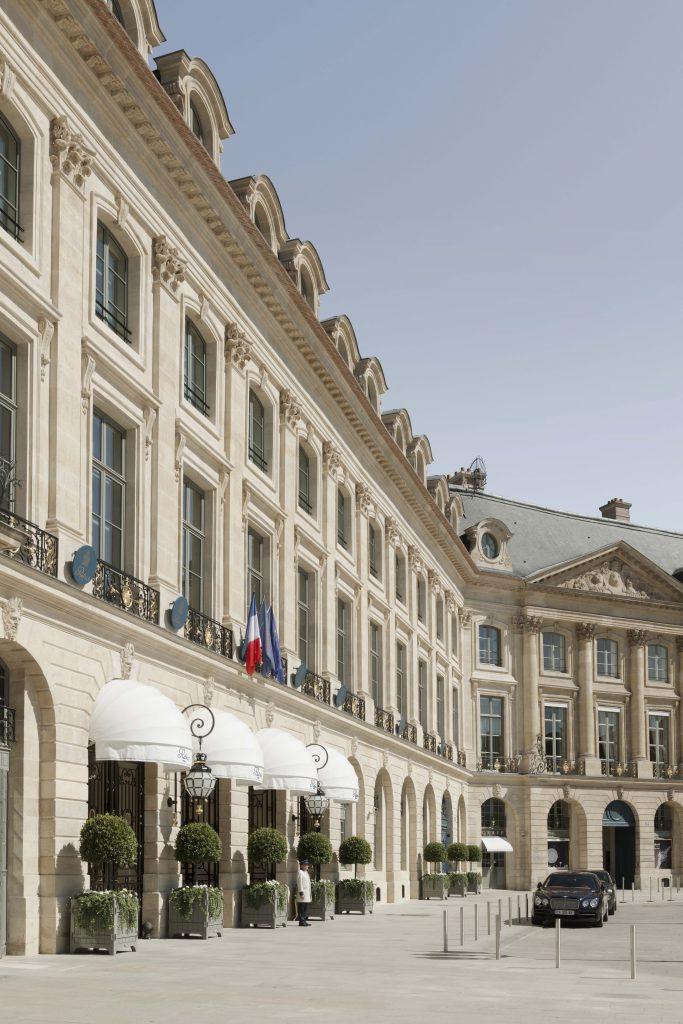 Hotel Ritz, Façade, 2017 © Vincent Leroux