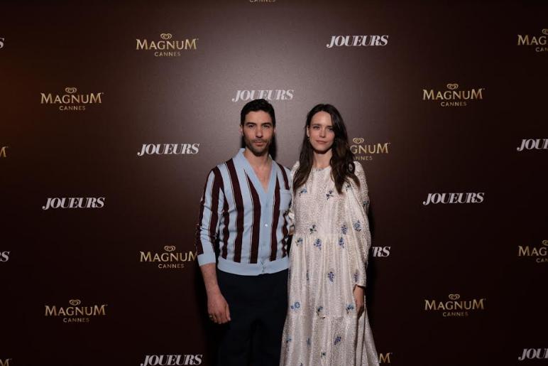 Tahar Rahim et Stacy Martin Crédit photo : Magnum - Festival de Cannes © Matthew Oliver