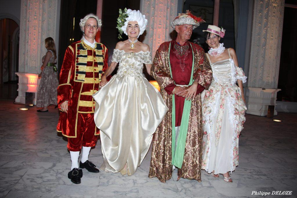 Elizabeth Wessel, Baron Michel de Brawney et Calypso de Sigaldi