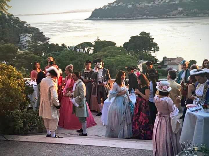 Les comtesse et les marquis du Bal de la baronne Béatrice