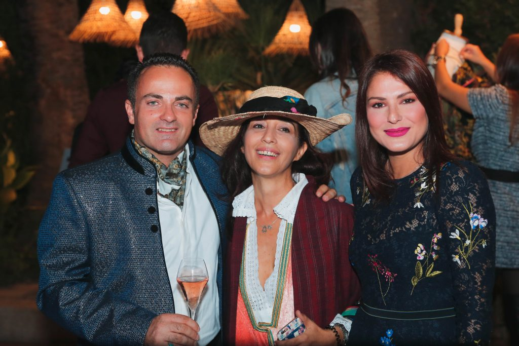 Laurent Amar, Latifa Hizem et Neila Azouz