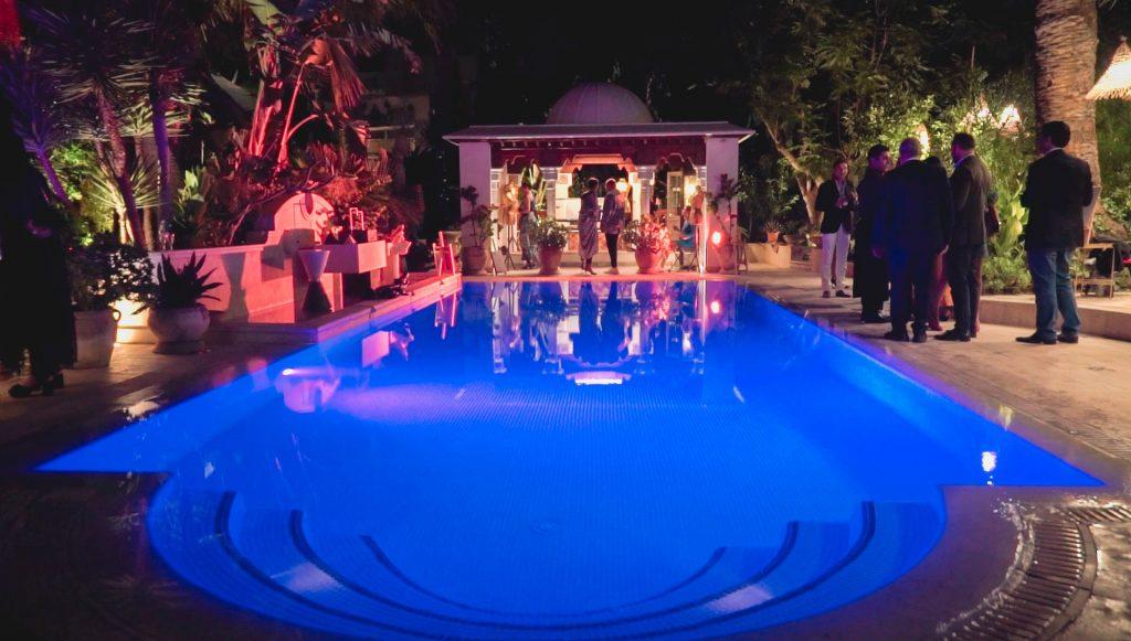 La piscine du magnifique Palais Lella Chedlya