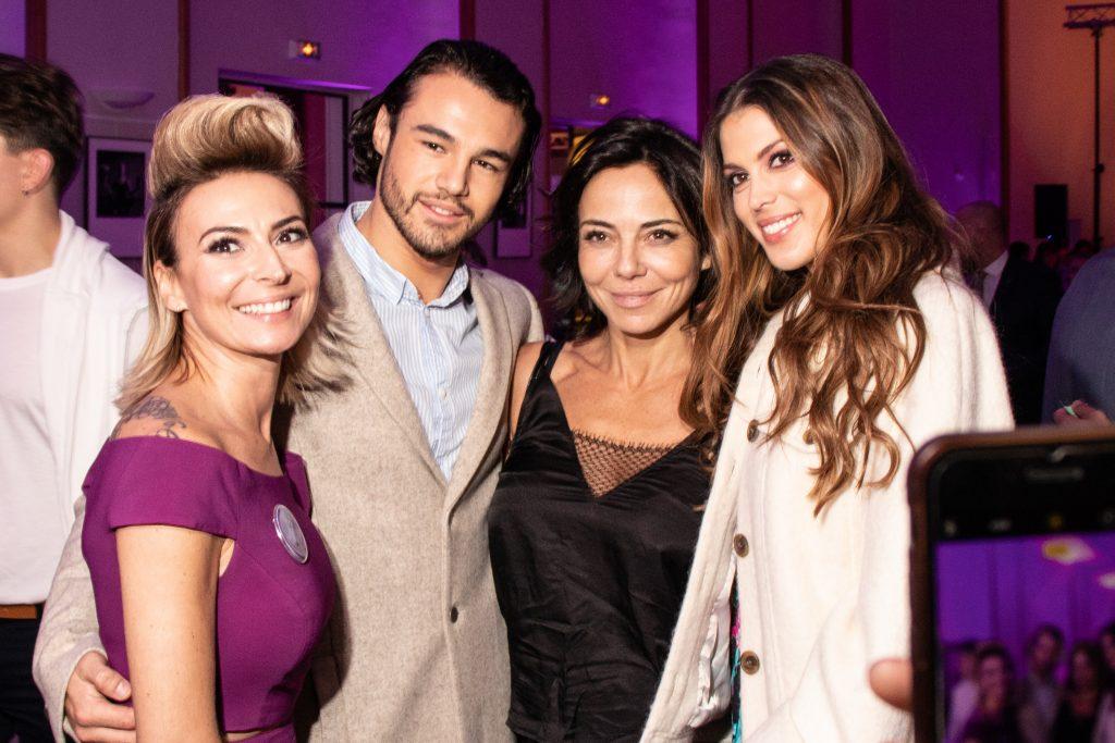 Laetitia Mendes, Sandra Sisley et Iris Mittenaere,
